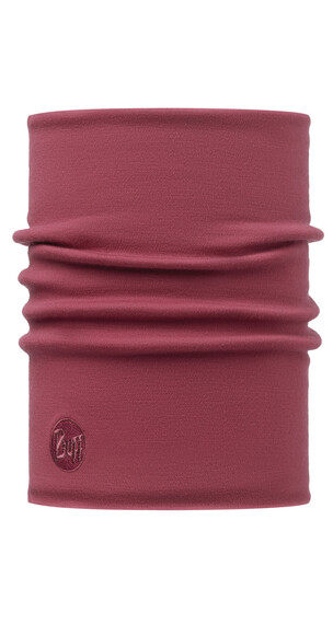 Buff Heavyw.Wool Therm. Solid sjaal rood